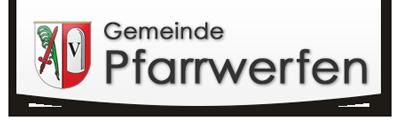Gemeinde Pfarrwerfen Startseite